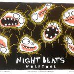 Concertposter Night Beats