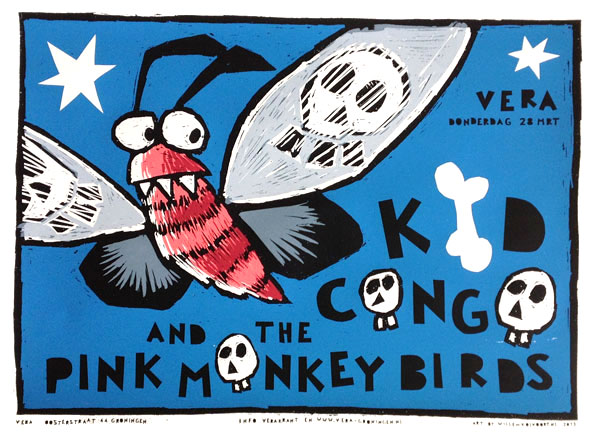 kid congo and the pink monkey birds