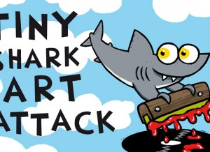 TINY SHARK ART ATTACK