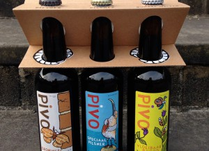 Special 3-pack van PIVO brouwers ook te koop tijdens ANOTHER FINE MESS #2