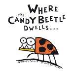Front of the book/album Where the Candybeetle dwells...