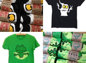 NIEUWE T-SHIRTS —-> GHOST + FROG