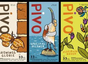 PIVO special 3-pack etiketten